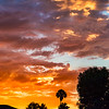 MONSOONAL MOISTURE SUNSET