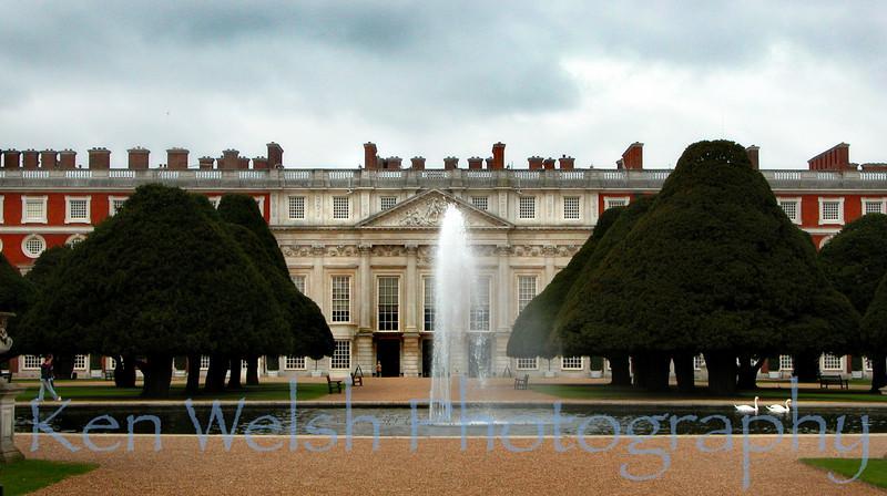 """Hampton Court Palace""<br /> <br />  © Copyright  Ken Welsh"