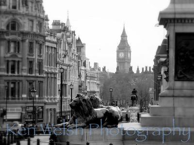 """""""Trafalgar Square""""    © Copyright  Ken Welsh"""