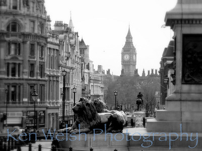 """Trafalgar Square""    © Copyright  Ken Welsh"