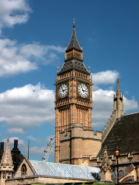"""Eye on Big Ben""<br />   <br /> © Copyright  Ken Welsh"