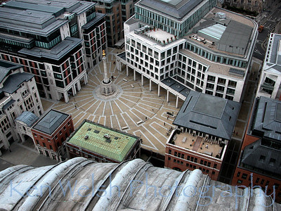 """View from St. Paul's ""   © Copyright  Ken Welsh"