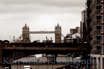 """Tower Bridge""  © Copyright  Ken Welsh"
