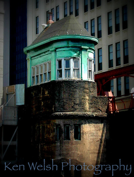 """Watch Tower""<br /> <br /> Chicago<br /> © Copyright Ken Welsh"