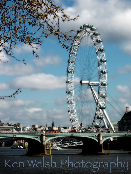 London Eye  © Copyright  Ken Welsh
