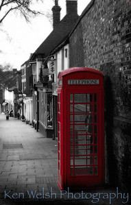 """Telephone""  Warwick, England   © Copyright  Ken Welsh"