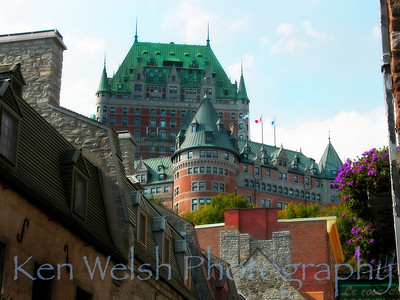 """Le Chateau Frontenac""   Copyright Ken Welsh"