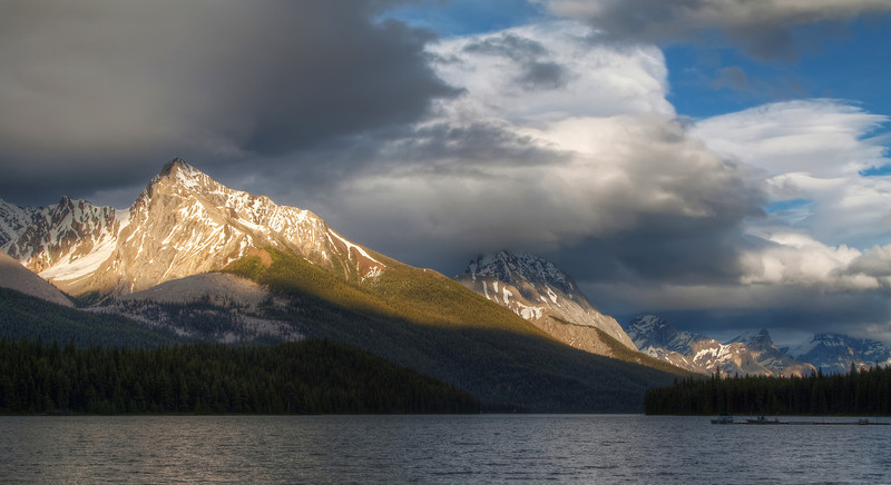 Maligne Lake Moment