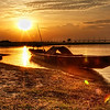 Jamuna River Sunset