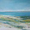 Coast View  28x38 Acrylic on Canvas