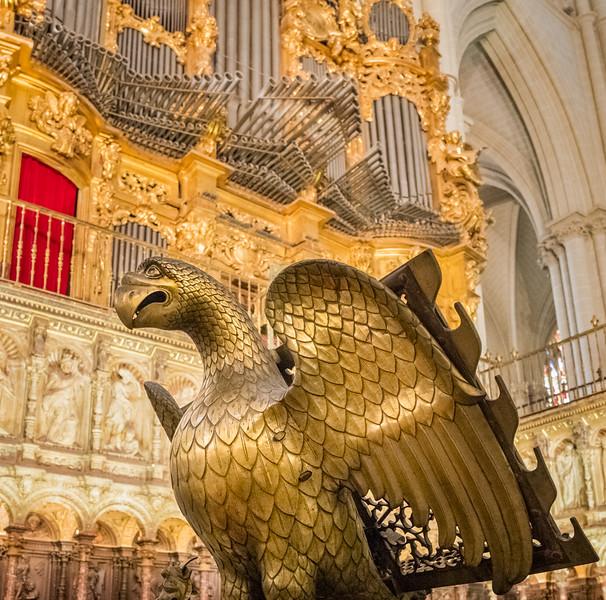 Gold Eagle Lectern