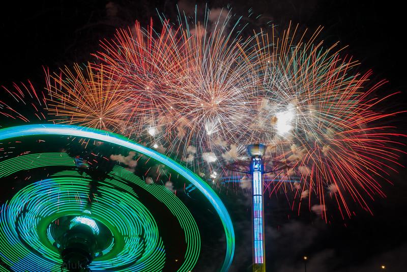 Amusing Fireworks