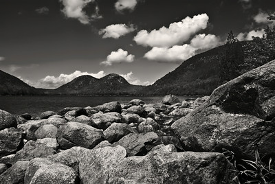 Jordan Pond Monochrome