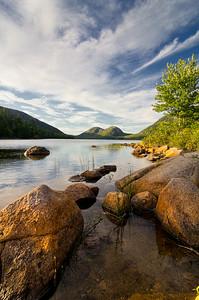 Jordan Pond Rocks 9777