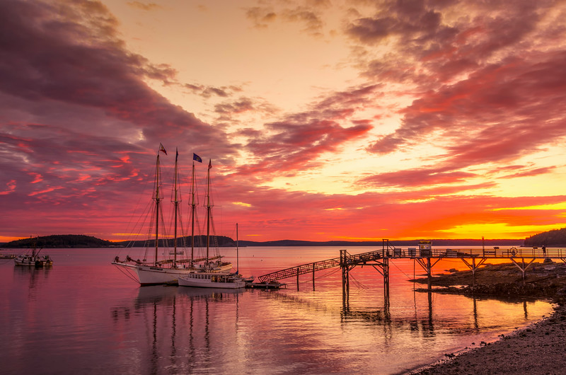 October Sunrise over Bar Harbor 67