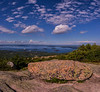 Cadillac Mountain Vertorama, Acadia National Park, Maine