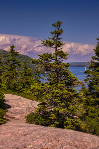 Flying Mountain Loop Trail Summit 2, Acadia National Park, Maine