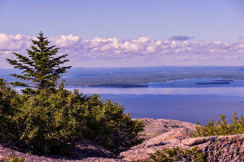 Cadillac Mountain View, Acadia National Park, Maine