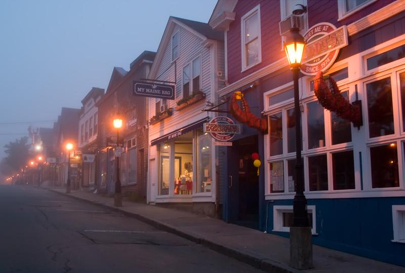 Foggy Bar Harbor Morning
