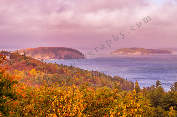 Porcupine Islands in Autumn