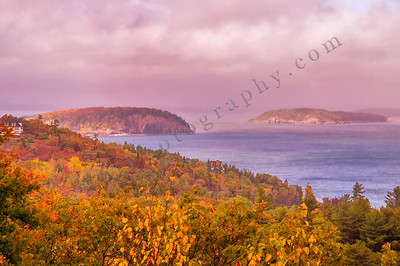 Porcupine Islands in Autumn