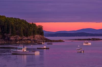 Bar Harbor at Dawn 1