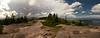 Gorham Mountain Summit 180 Degree Pano