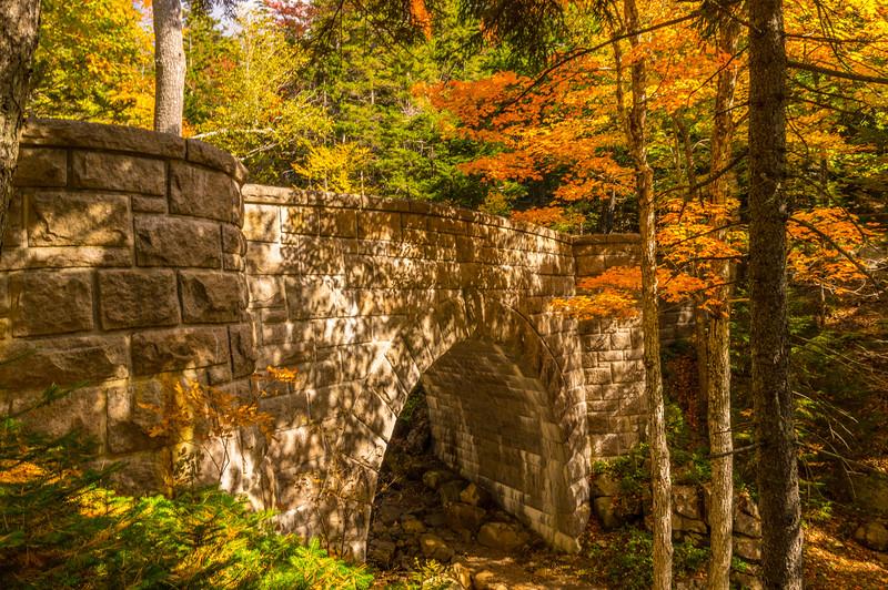 Carriage Road Bridge in Autumn
