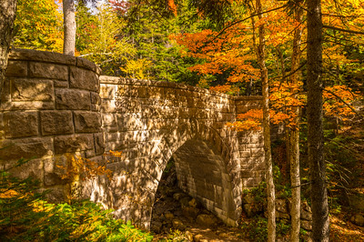Carriage Road Bridge in Autumn