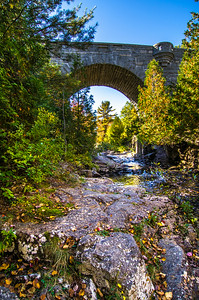 Duck Brook Bridge, Acadia