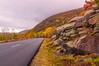 Park Loop Road in Autumn 2