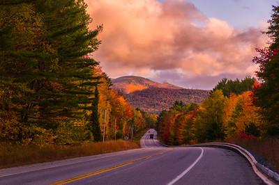 Foliage outside Bethel, Maine