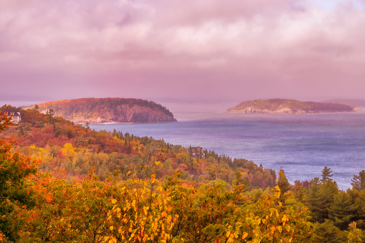 Porcupine Islands, Acadia National Park, Maine