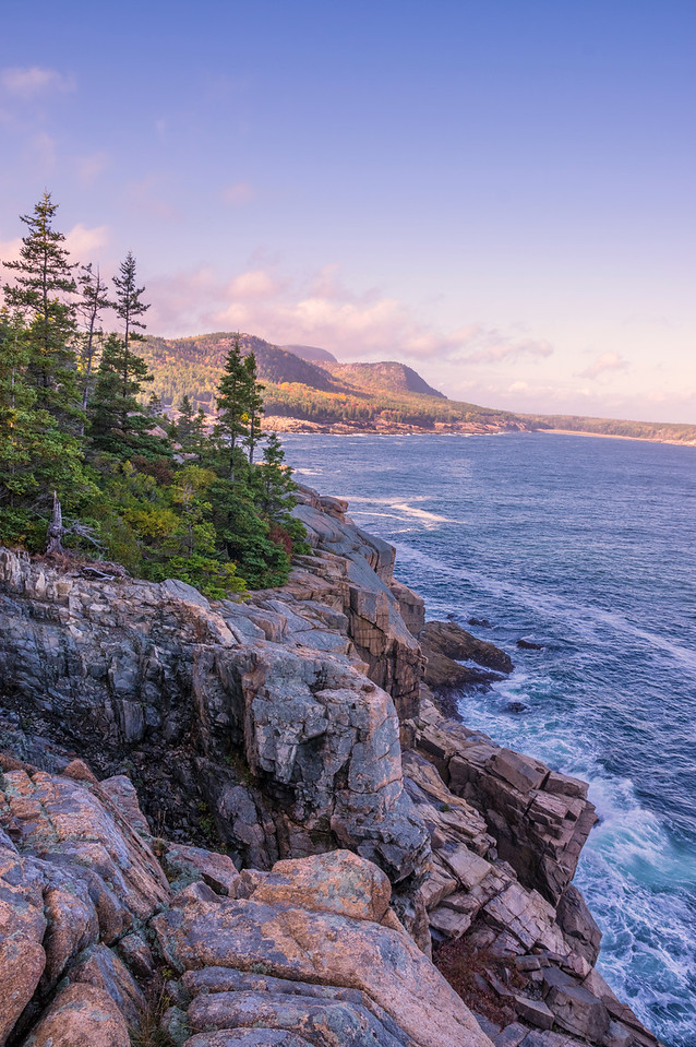 Park Loop Road View, Acadia National Park, Maine