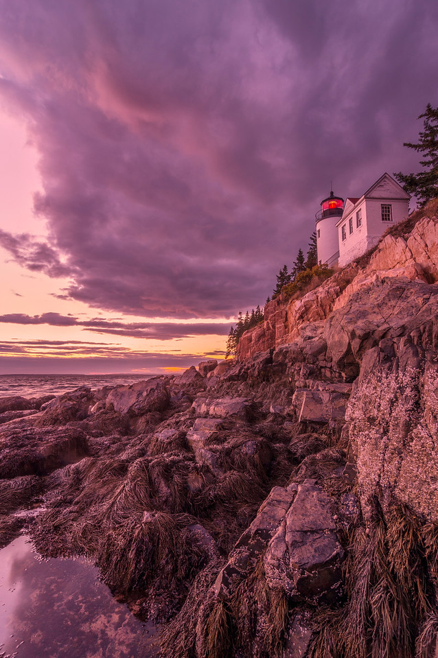 Bass Harbor Sunset, Mount Desert Island, Maine