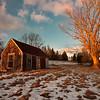 Deer Isle Shack after January Snowfall, Deer Isle, Maine