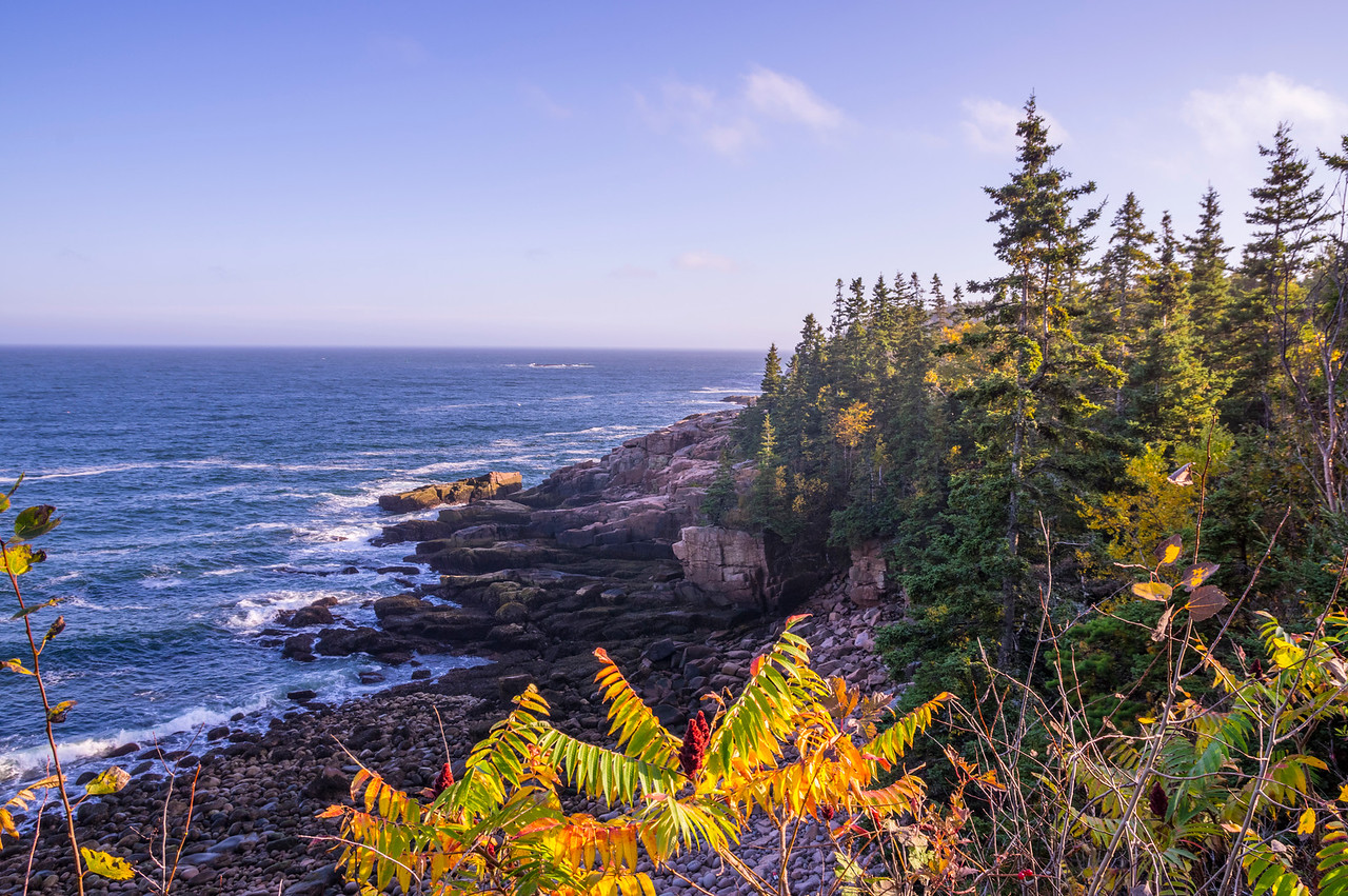 Park Loop Road View 2, Acadia National Park, Maine