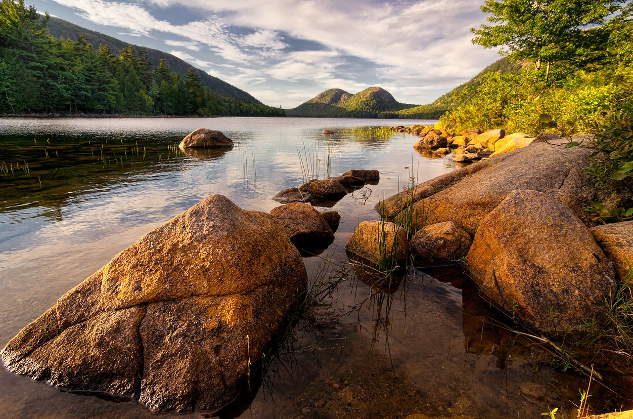 Jordan Pond Rocks, Acadia National Park, Maine