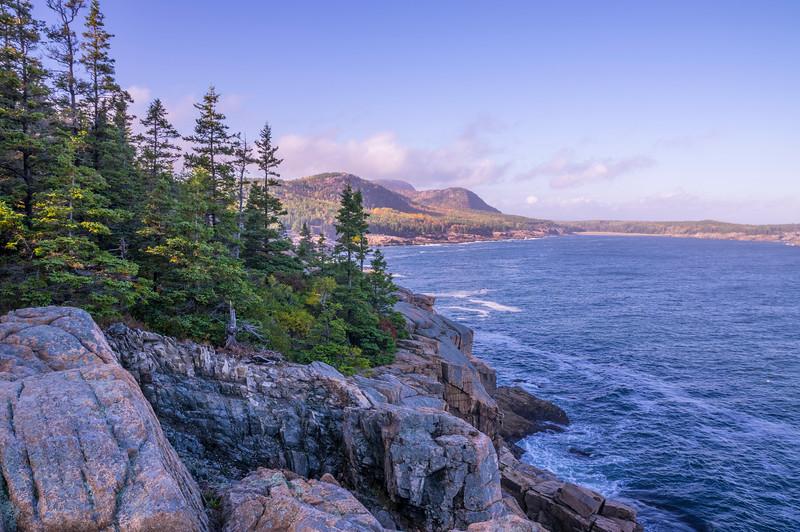 Park Loop Road View 3, Acadia National Park, Maine