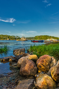 Cundy's Harbor view, Harpswell, Maine