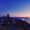 Quebec City at Dawn 2, 15 image panorama