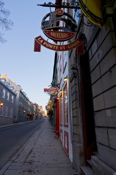 Le Grande Allee detail, Quebec City