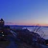 Quebec City at Dawn 1, 12 image panorama