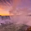 Horseshoe Falls at Sunrise, Niagara Falls, Ontario Canada