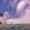 Horseshoe Falls, Canadian Niagara, from Hornblower Boat Tour