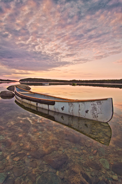 Marriners Cove Canoe, Deer Isle, ME