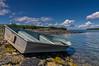 Rowboat at Northwest Harbor, Deer Isle, ME