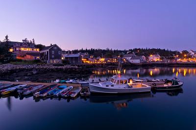 Stonington Harbor Twilight, Maine