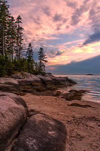 Sand Beach Sunset, Deer Isle, ME 2