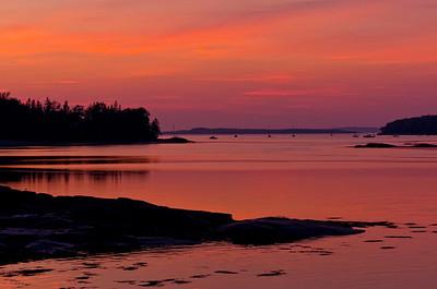 Item # DIM 0081  Northwest Harbor, Deer Isle, Maine 2